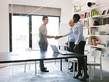 A business meeting-Short-Term Workforce Training