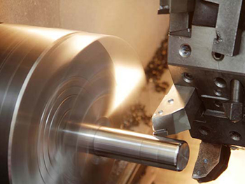 A spinning lathe